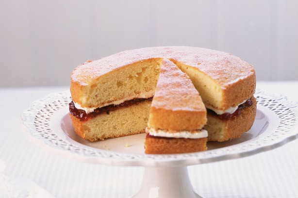 30 afternoon tea ideas victoria sponge cake goodtoknow for Cake recipe ideas uk