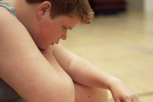 child obesity overweight depressed unhappy lonely bullying