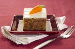 Carrot Cubes cake