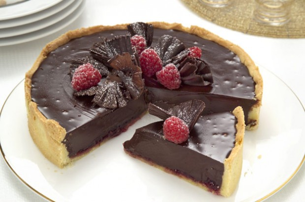 Chocolate And Raspberry Tart Recipe Goodtoknow