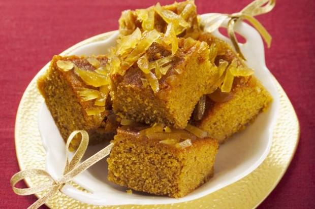 Ginger Polenta Cake
