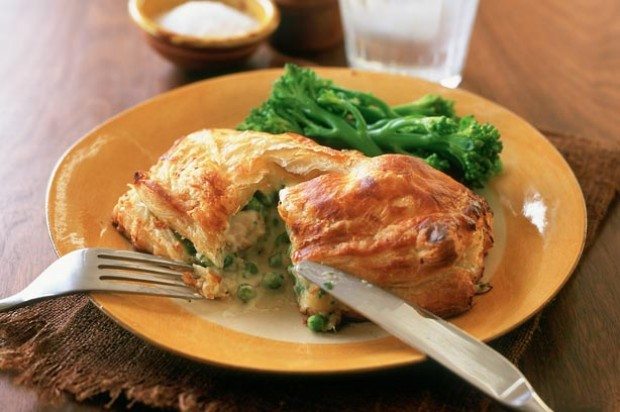 Cheesy Chicken Parcels