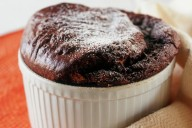 Chocolate and Coconut Souffle