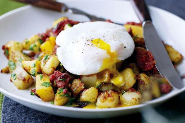 Fried Corn Beef Hash