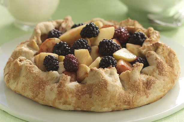 Apple and blackberry pie recipe