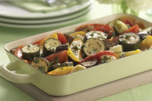 Pesto Roasted Vegetables
