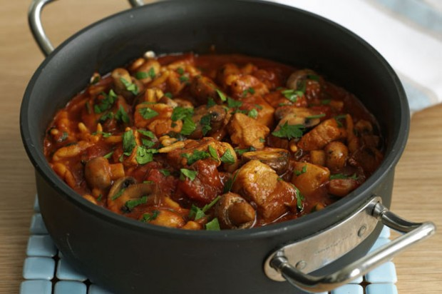 Pork and Pepper Goulash