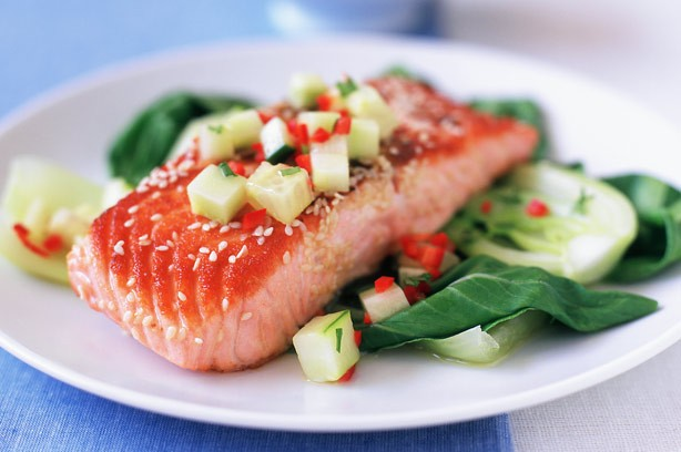 Ginger and Sesame Salmon