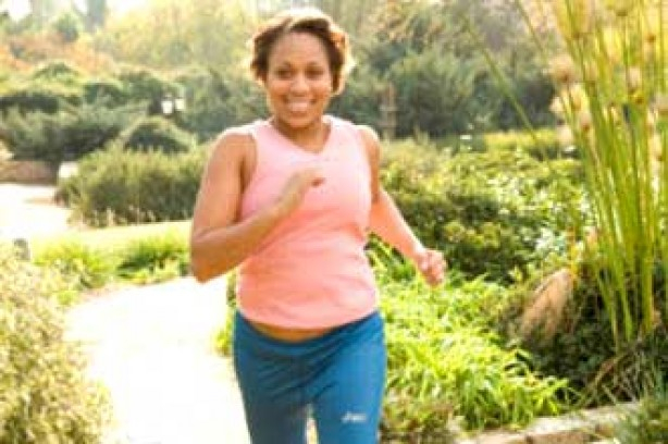 Execise Running woman jogging