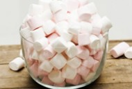 How to save money on kids cakes/Bowl of marshmallows