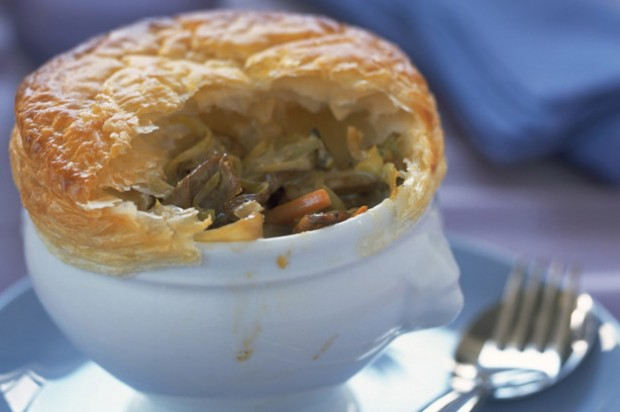 Cheddar and mushroom pie recipe