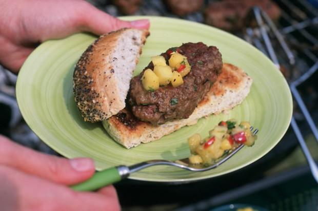 Rosemary Lamb Burgers