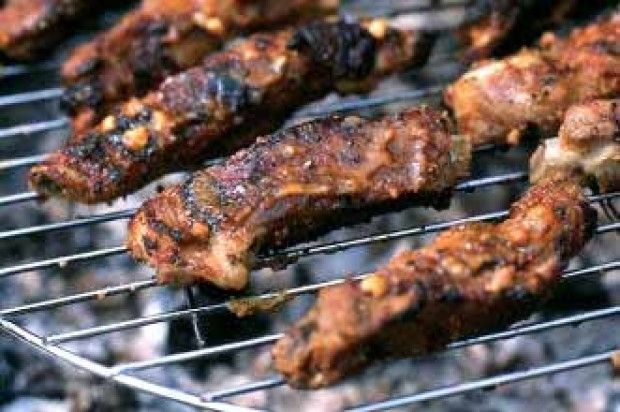 Satay Glazed Ribs
