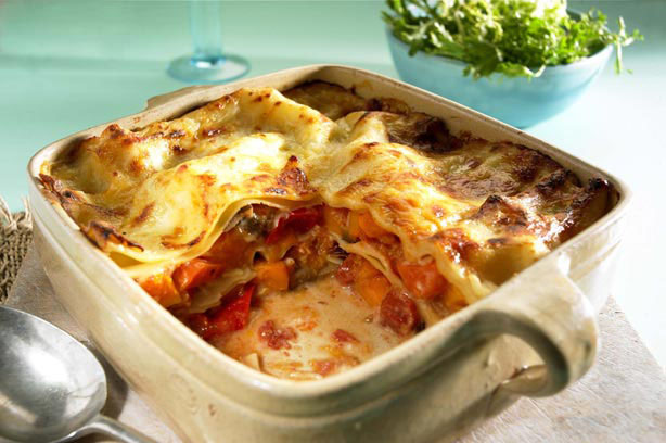 Dairy and gluten-free vegetable lasagne recipe - goodtoknow