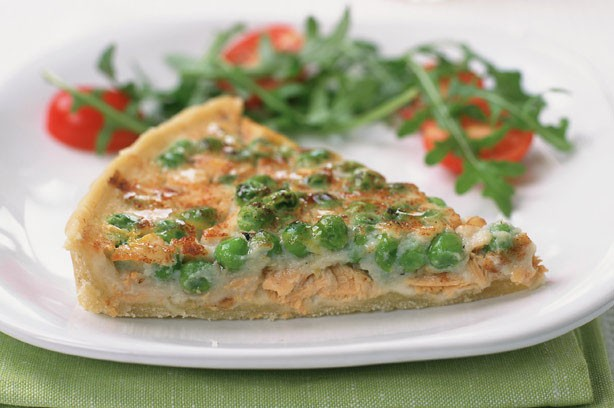 Tuna and Pea Quiche