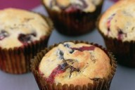 Cherry and Chocolate Muffins