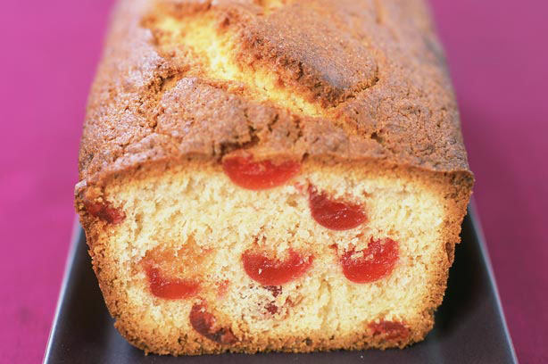 cherry and coconut loaf recipe goodtoknow