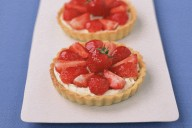 Strawberry Mascarpone Tartlets