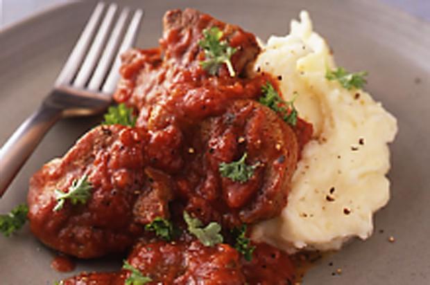 Tomato Braised Lamb