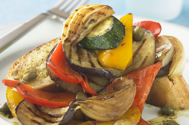 Chargrilled vegetable salad recipe - goodtoknow