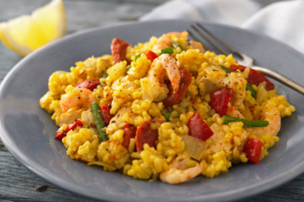 Chicken and prawn paella recipe - goodtoknow