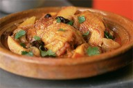 Chicken, Apple and Prune Tajine