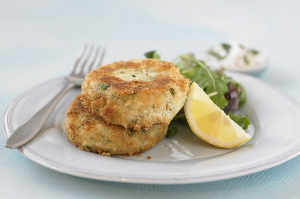 Smoked haddock fishcakes