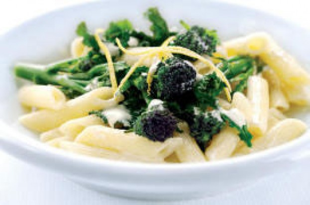 Brocolli lemon pasta