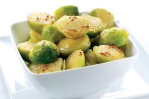 Brussel sprouts with honey and mustard