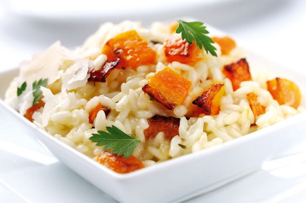 Roasted carrot risotto recipe