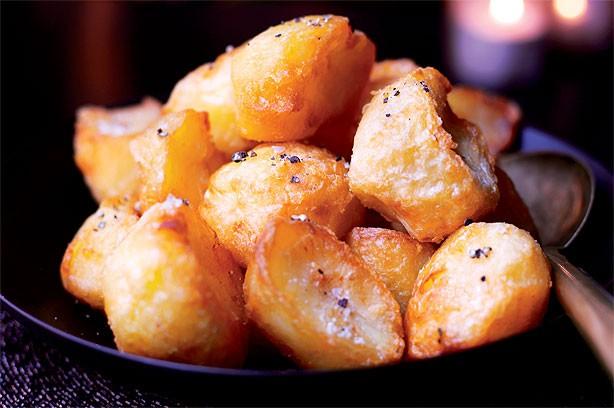 Roast potatoes video