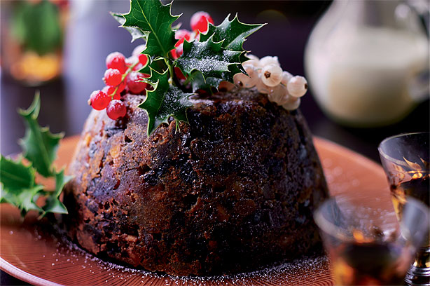 Microwave Christmas pudding recipe - goodtoknow
