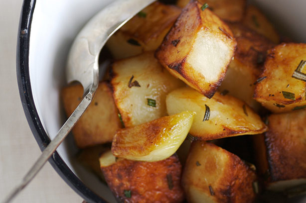Pan Roast Potatoes Recipe Goodtoknow