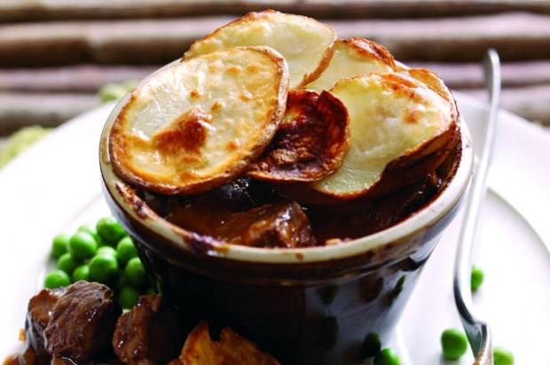Individual beef pot pies