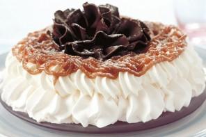 Chestnut cream meringue