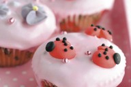 Ladybird cupcakes