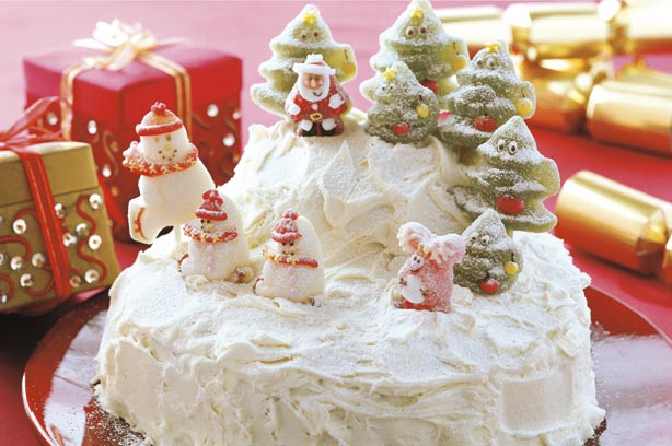 Christmas Cake Design Recipes : Christmas cake with royal icing recipe - goodtoknow