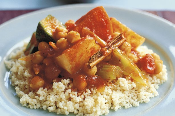 Mixed vegetable couscous