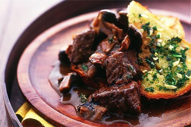 Beef and Wild Mushroom Casserole