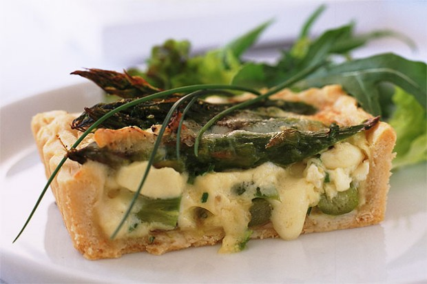 Asparagus and Brie Tart