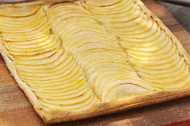 French-style apple tart