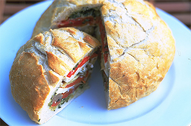 Roasted vegetable loaf recipe - goodtoknow