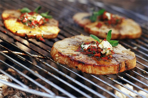 Tuna Steaks with Tomato Butter