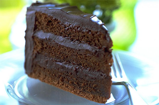 Rich Chocolate and Rum Cake