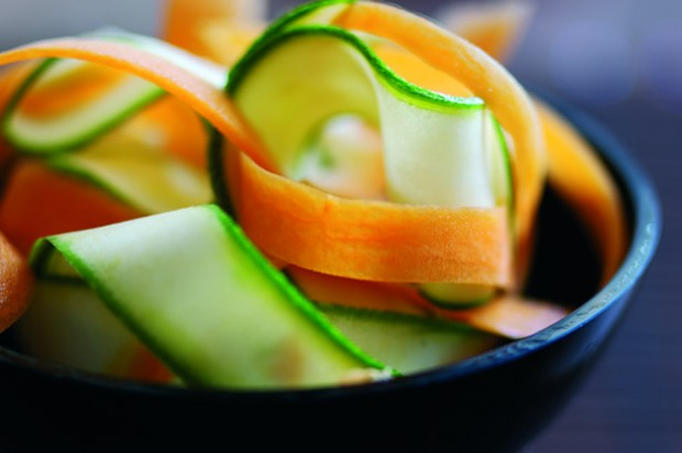 Courgettes and carrots