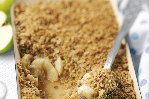 Apple crumble recipe - goodtoknow