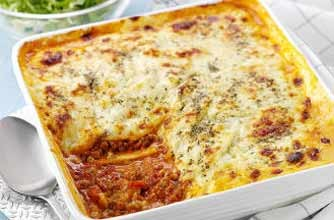 Turkey lasagne