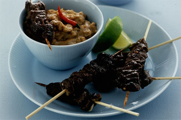 satay peanut sauce recipes yummly beef satay with peanut ginger ramen ...