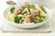 Lemon Turkey Meatballs