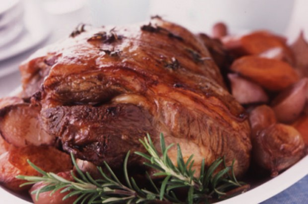 Braised leg of lamb with winter roots recipe - goodtoknow